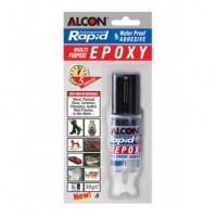ALCON-Rapid Plastik Çelik 5 Dk. Şeffaf Yapıştırıcı 30 gr. Şırınga