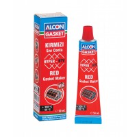ALCON HYPER-RTV Kırmızı Sıvı Conta 50 ml.