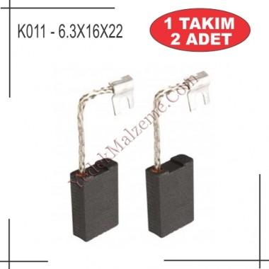 6,3x16x22 Bosch Eski Taşlama Kömürü