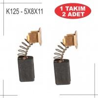 5X8X15 skıll ve Black&Decker matkap ve taşlamaları uyumlu kömür