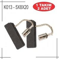 5x8x19 Bosch Gbh 2-26 Tipi kömür