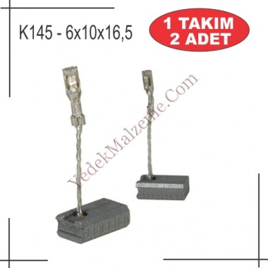 6X10X16,5 GWS 9-115 TİPİ KARBON FIRÇA