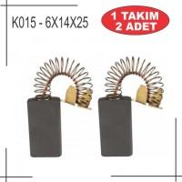 6x14x25 Dewalt Tipi manyetik matkap kömür