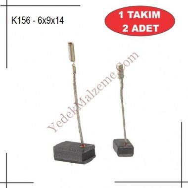 6X9X14 Makita Tipi GA4530 KARBON FIRÇA