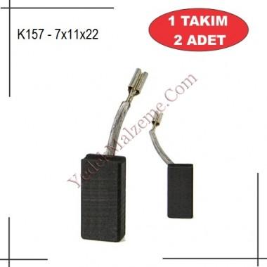 7X11X22 polisaj makinası kömürü