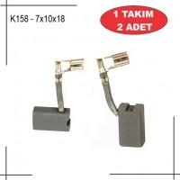 7X10X18 Alçı karıştırıcı kömürü