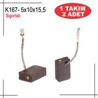 5x10x15 METABO TİPİ W7-115 SİGORTALI KÖMÜR