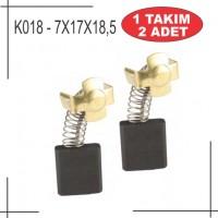 7x17x18,5 Hitachi Tipi Kömür (sigortalı)