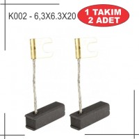 6,3x6,3x20 Bosch tipi kömür