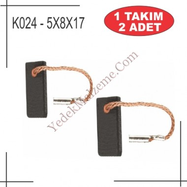 5X8X15,5 Bosch makita tipi kömür