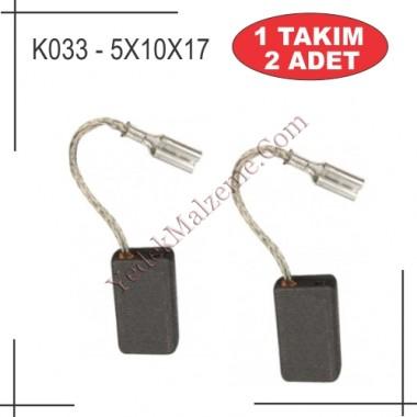 5x10x17 w7-115 w8-115 metabo tipi kömür (sigortalı)