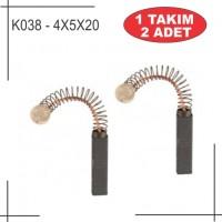4X5X20 Bosch Metabo Tipi Kömür