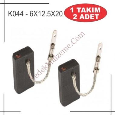6X12.5X20 metabo w12-125  / w14-125 tipi kömür