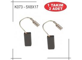 5X8X15,5 gws 6-115 avuç taşlama kömürü
