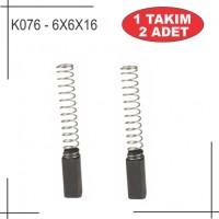 6X6X16 Bosch Tipi kömür
