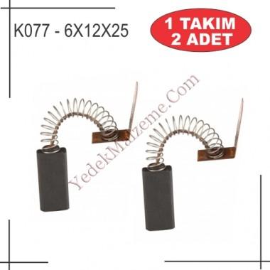 6X12X25 Çelikal Tipi Kırıcı Kömürü