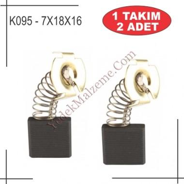 7X18X20 Makita GA7020 / GA7040 Tipi Taşlama Kömürü
