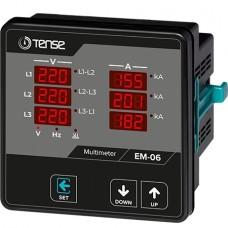 Tense EM-06 6x3 Hane LED Display Ekranlı Multimetre