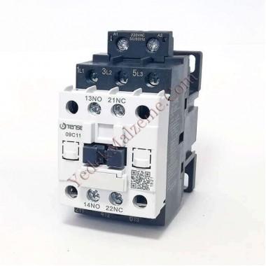Tense 9 Amper Kontaktör Uec1-09c11m7