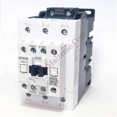 Tense 40 Amper Kontaktör Uec1-40c11m7
