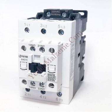 Tense 50 Amper Kontaktör Uec1-50c11m7