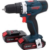 Prox PR-100400 18 Volt Profesyonel Çift Akülü Vidalama 1.5Ah