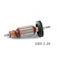 GBH 2-26 Bosch Tipi Endüvi - Rotor- Kollektör