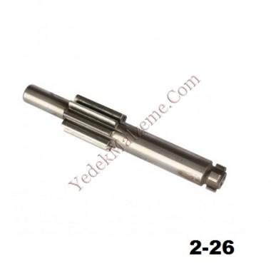 Bosch GBH 2-26 Tipi Şaft mili