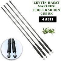 Aima Zeytin Hasat Makinası Karbon fiber Vidalı çubuk 5 mm. 4 Adet