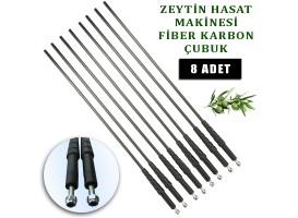 Aima Zeytin Hasat Makinesi Karbon fiber çubuk 5 mm. 8 Adet