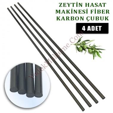 Zanon Zeytin Silkme Makinası uyumlu Karbon fiber çubuk 5 mm. 4 ad
